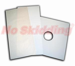 "No Skidding® Anti Slip Vinyl Bath Mat - 16""X34"" Clear or White"