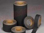 NS5100B Series Anti-Slip High Traction Safety Tape - 60 Grit - Black