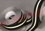 No Skidding® NS5402B Series 60 Black Grit Anti Slip Tapes with photoluminescent