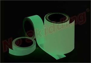 No Skidding® Glow in the Dark Tape, High Tack