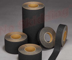 "12"" X 60 ft. NS5100B Series Anti Slip High Traction Grit Tape - Black"