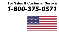 For Sales & Customer Service: 1-800-375-0571